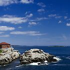 Portland Head Light Panorama by Mark Van Scyoc