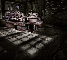 Basking Lathe - Cockatoo Island by Jeff Catford