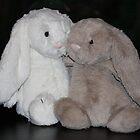 Bunny Snuggle by aussiebushstick