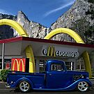 """Cruising McDonalds"" - 1937 Ford Custom Pickup by TeeMack"