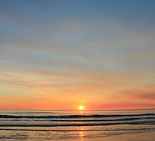 cable beach sunset, broome by nicole makarenco
