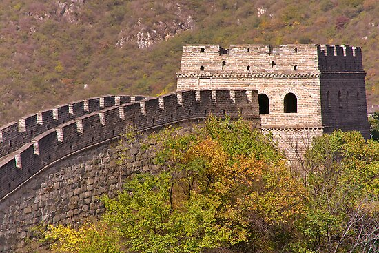 The Great Wall Series - at Mutianyu #3 by © Hany G. Jadaa © Prince John Photography