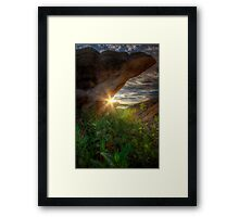 Pinch Framed Print