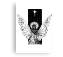 Angel and Star Canvas Print