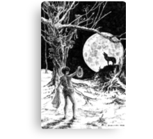The Wolves Are Running Canvas Print