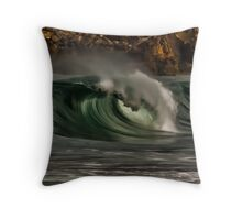 Same day different wave Throw Pillow