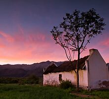 Deserted farmhouse in the Karoo by Gustav Snyman