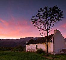Deserted farmhouse in the Karoo by Gustav Snyman