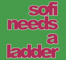 Sofi Needs A Ladder - deadmau5 (Pink Text) by CalumCJL