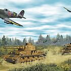 Hawker Typhoon Tank Busters by Walter Colvin