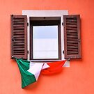 Window, Italy by Dean Bailey