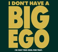 BIG EGO by DAVID ROBERT WOOTEN