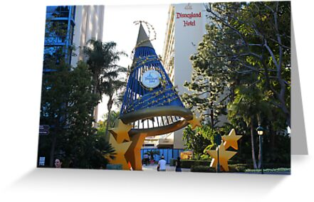The Disneyland Hotel - The Sorcerer&#x27;s Hat by Rechenmacher