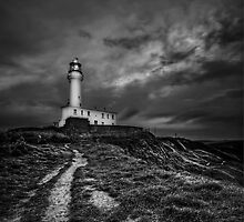 A Path To Enlightment (BW) by Evelina Kremsdorf