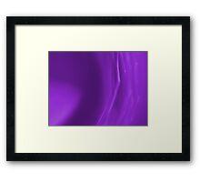 Peacefully Purple Framed Print