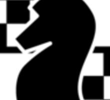 Checkmate Small Logo Sticker