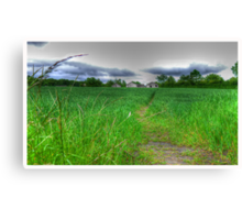 Path by Day Canvas Print