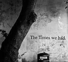The Times We Had by tutulele