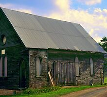 Old Church on the Hill by Chuck Chisler