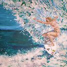 Girls are Bad Ass Surfers Too by Jennifer Ingram