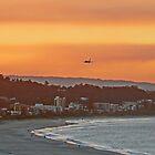Golden Gold Coast Arrival by Graeme  Hyde