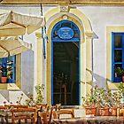 greek cafe by Teresa Pople