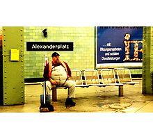 BERLIN - WAITING Photographic Print