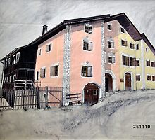 Guarda House Switzerland by itchingink