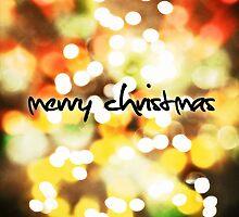Christmas Card – Bokeh Lights by Alisdair Binning