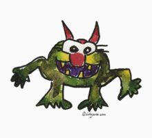 Funny Cartoon Monstar 006 by Lillyarts