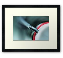 Left Empty... Framed Print