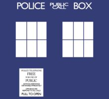 Police Box by Chris McQuinlan