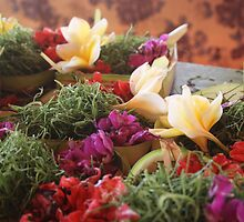 Canang Sari 'offering' - Bali by mezzatoh