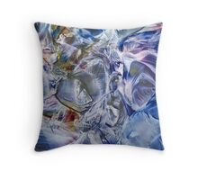 Morphic fields of the mysterious mind Throw Pillow