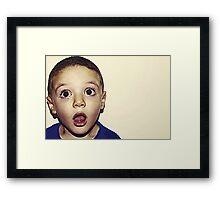 OMG! Framed Print