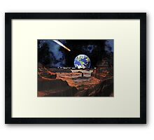 Everyone's Gone to the Moon ? Framed Print
