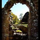 Fountains Abbey Archway by angelimagine