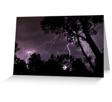 Power - Lightning, Rockville, MD Greeting Card