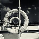 Ropes on a boat by Silvia Ganora