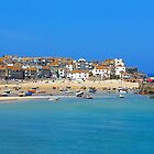 St Ives Harbour Cornwall by adamshortall
