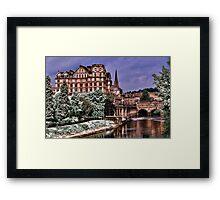 Victoria Art Gallery and Palladian Pulteney Bridge  Framed Print