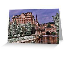 Victoria Art Gallery and Palladian Pulteney Bridge  Greeting Card