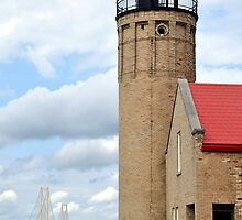 Mackinaw Light by Gayle Dolinger