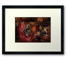 Steampunk - Gear - It used to work Framed Print