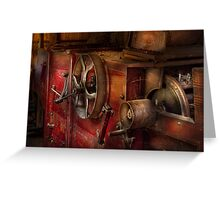 Steampunk - Gear - It used to work Greeting Card