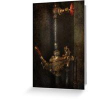 Steampunk - Plumbing - Number 4 - Universal  Greeting Card