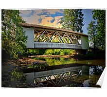 Larwood Covered Bridge Poster