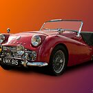 1958 Triumph TR3A by Aggpup