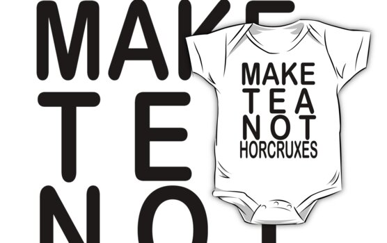 TEA NOT HORCRUXES by fabledesign