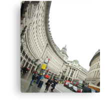 Regent Street - London Canvas Print